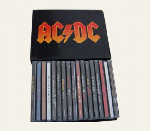 AC/DC Complete Collection 17 CDs Box Set