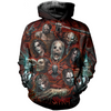 Image of Slipknot 3D Allover Printed Hoodie 1