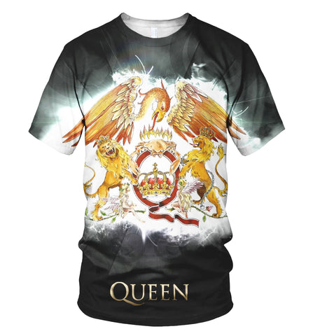 Queen 3D Allover Printed 15