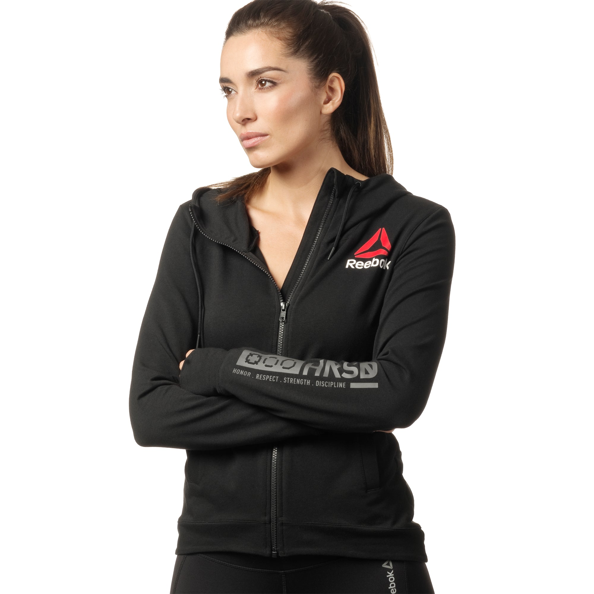 REEBOK - Sudadera UFC Fight Night Blank Walkout
