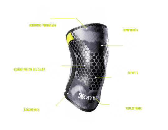 COMPEX - 5MM Knee Sleeve Camo