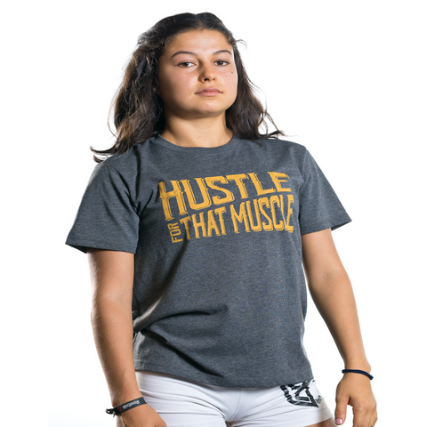 WOD ELEMENT - Camiseta Hustle For That Muscle