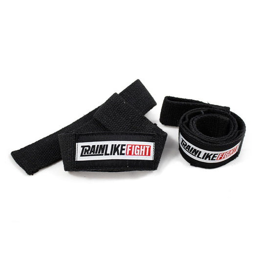 TRAIN LIKE FIGHT- Weightlifting Straps Cotton&Neoprene