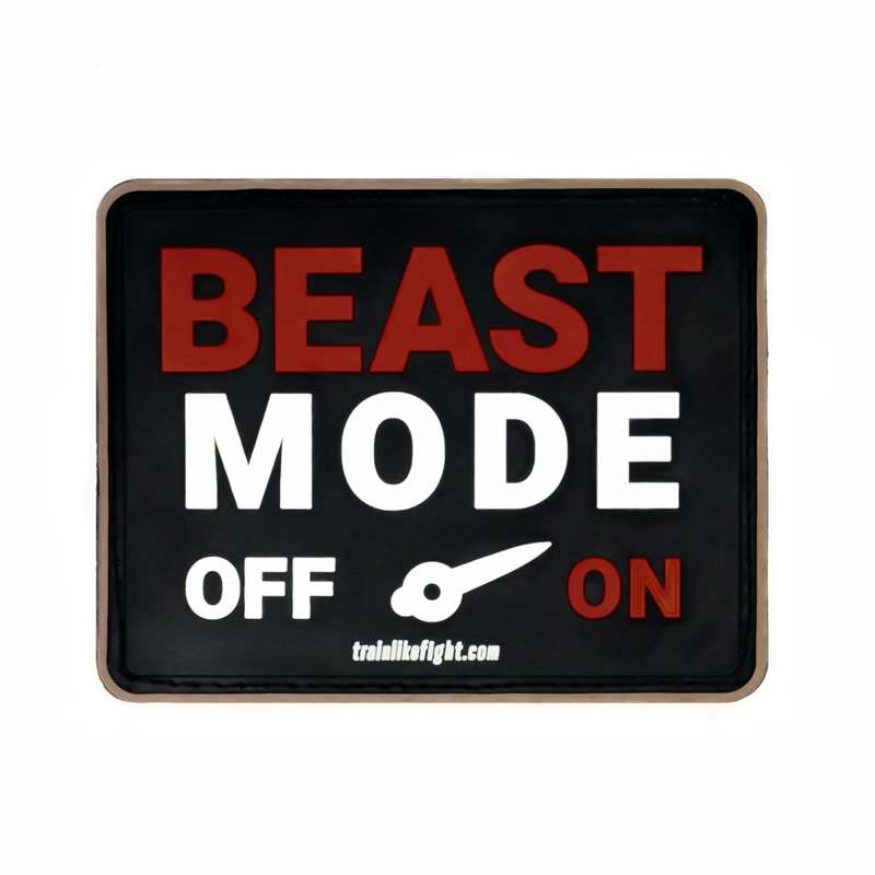 TRAIN LIKE FIGHT - Parche Beast ON