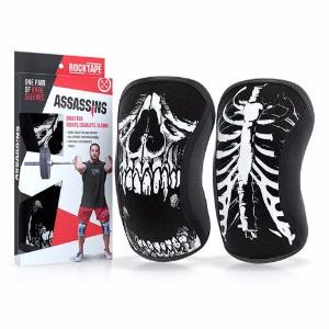 Rocktape Rodilleras Assassins Skull 7mm