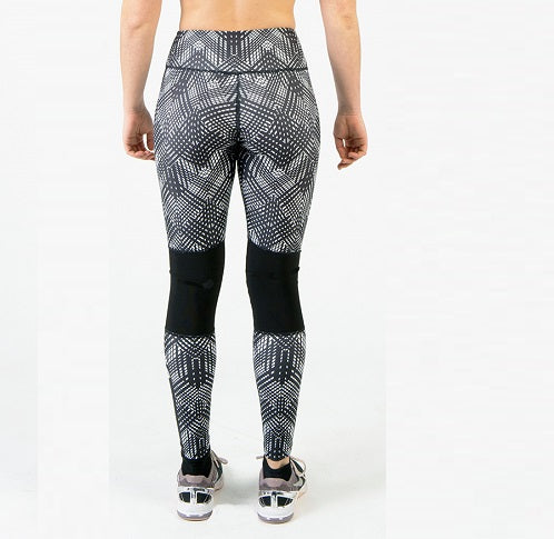 FIT TREND - Knee Tights Geometric