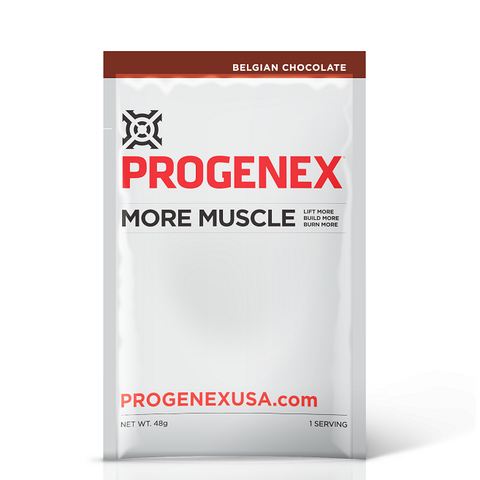 PROGENEX - More Muscle 1 Serving Chocolate - Peanut Butter