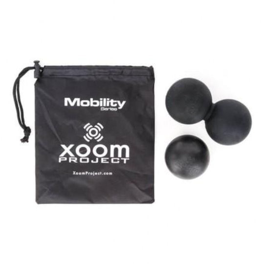 XOOM PROJECT - Lacrosse Ball Pack Black