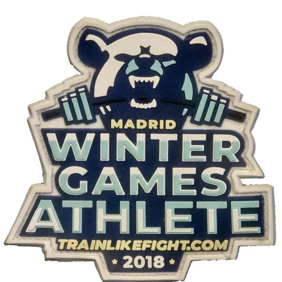 Parche Winter Games Madrid 2018 edition