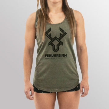 FEHUHREINN - Tank Top Soil Logo Green