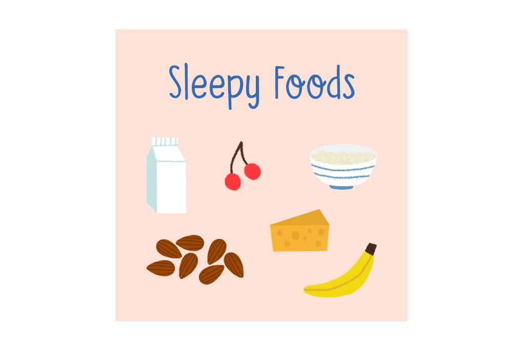 Food that helps children sleep