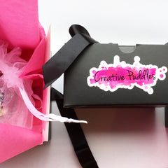 Creative Puddles gift packaging
