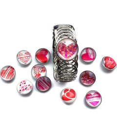 Valentines Heart Bangle