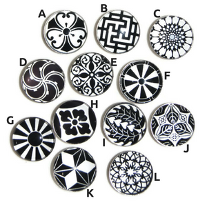 Kaleidoscope charms