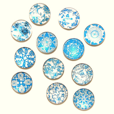 Mosaic Tile charms