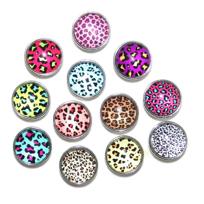 Animal print leopard charms