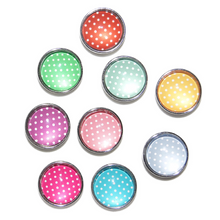 Polka dot charms