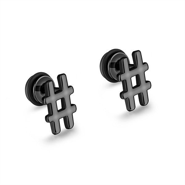 Charming Square Stud Earring