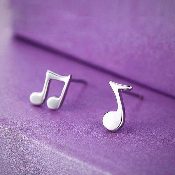 Musical Notes Earrings Ear Stud