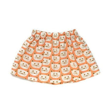 Coral Cat Skirt