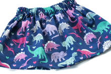 girls dino skirt