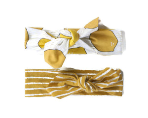 Lemon Headband Set