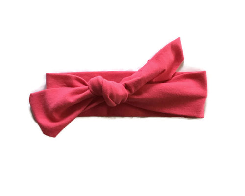 Pink Headband // ready to ship