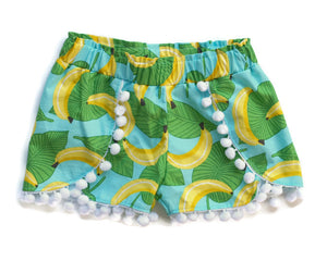 Banana Shorts | 18m // ready to ship