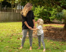 mommy and me daisy leggings