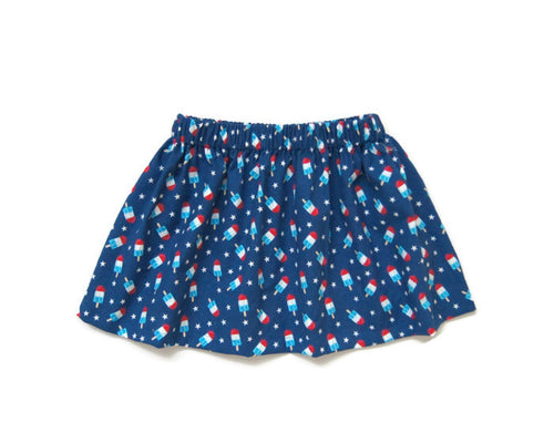 Bomb Pop Skirt | 18/24m // ready to ship