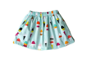 Ice Cream Skirt // ready to ship