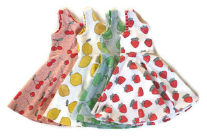 fruit kids dress
