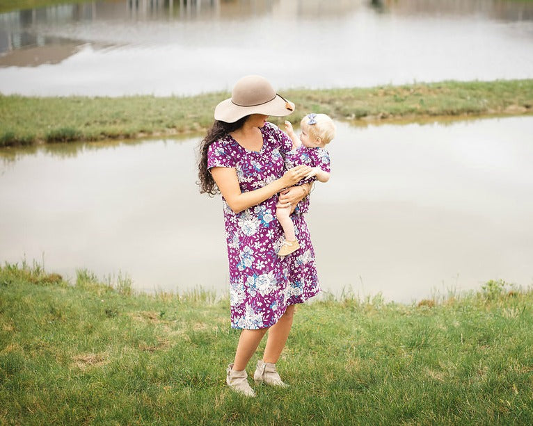 floral mommy and me dresses