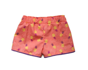 toddler pineapple shorts