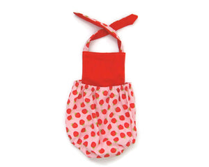 Strawberry Baby Romper