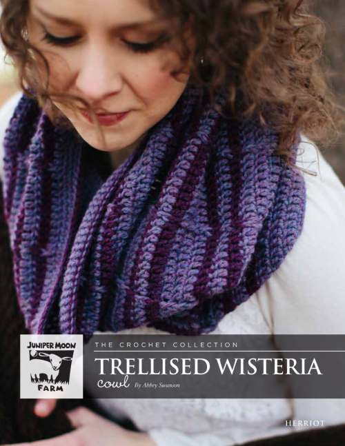 Juniper Moon Herriot - Trellised Wisteria Cowl