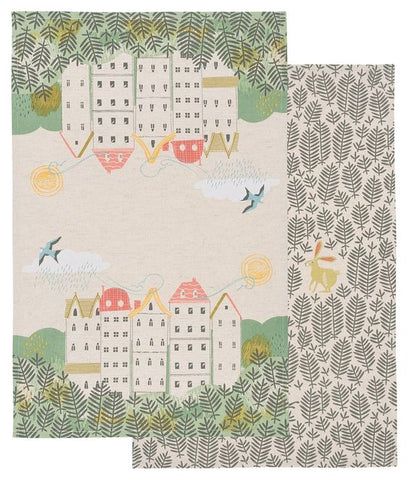 Hill & Dale Dishtowels - Set of Two