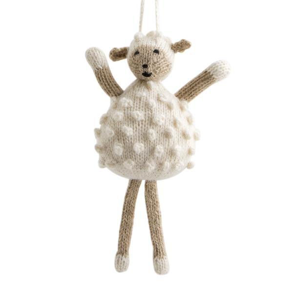 Sheep Holiday Ornament