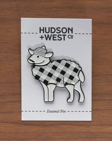 Hipster Sheep Pin - Hudson + West Co
