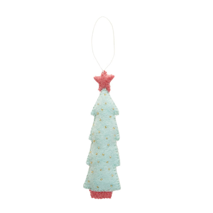 Christmas Tree Holiday Ornament - Mint