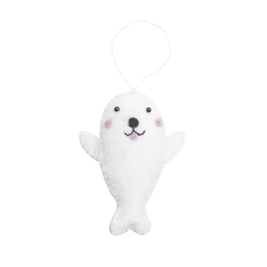 Arctic Seal Holiday Ornament