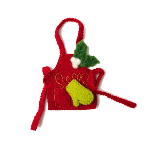 Kitchen Apron Ornament