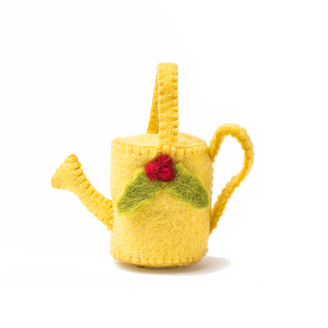 Felt Watering Can Ornament