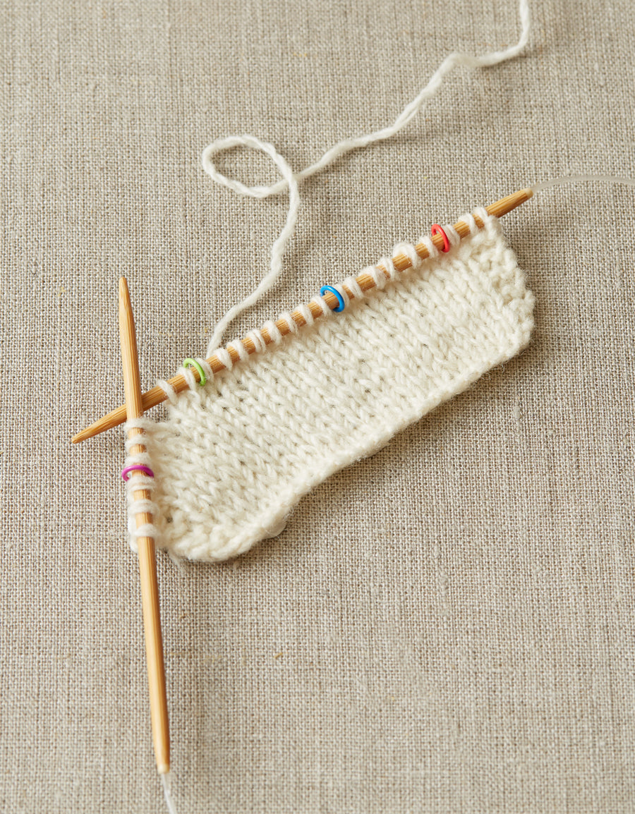 Cocoknits Colored Ring Stitch Markers - Small