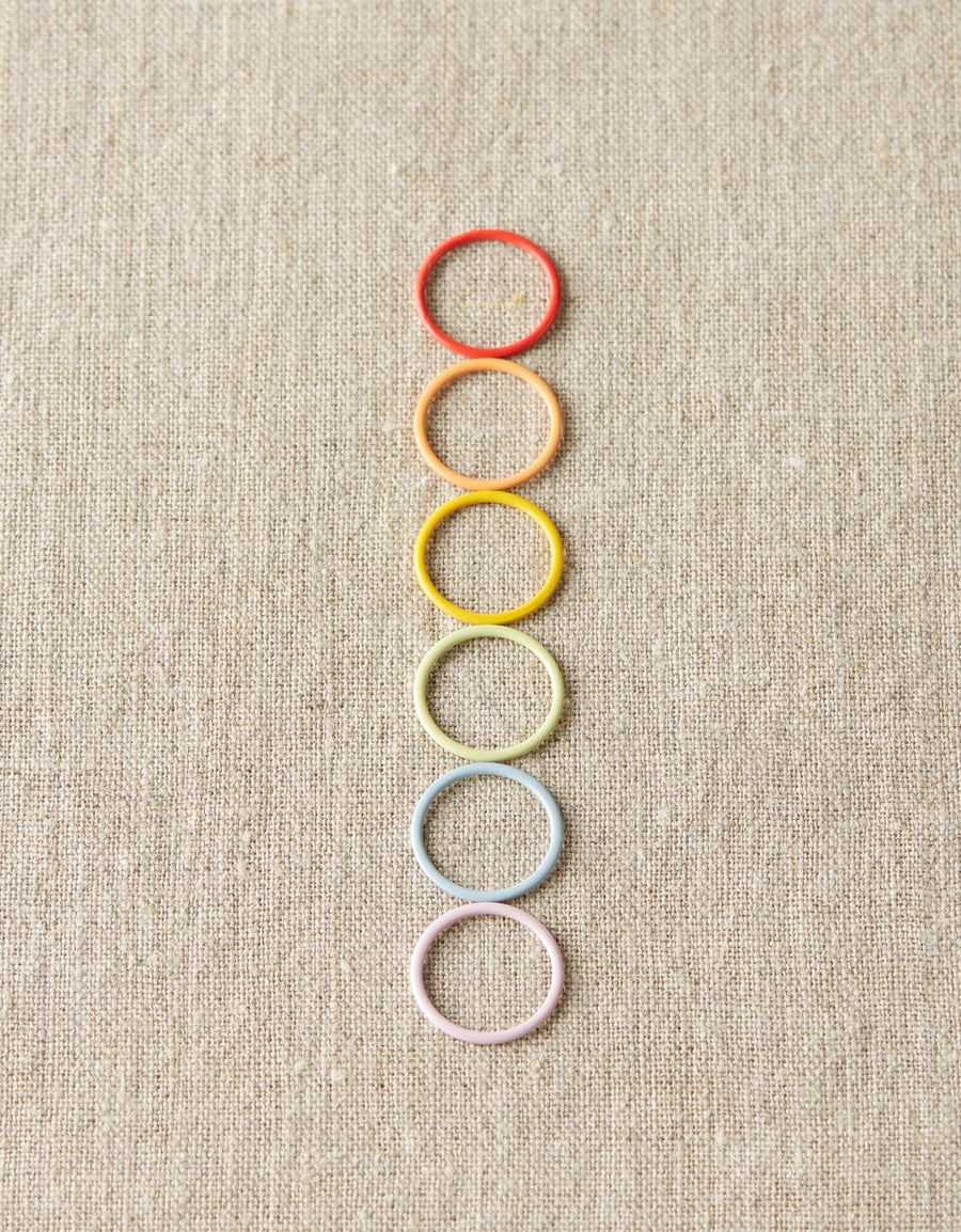 Cocoknits Jumbo Colored Ring Stitch Markers