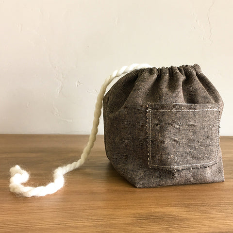Yarn Cake Holder/Pouch