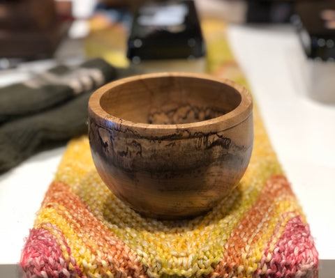 Small Turned Wooden Bowls