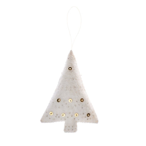 Embellished Tree Holiday Ornament
