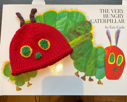 A Very Hungry Caterpillar Hat Kit