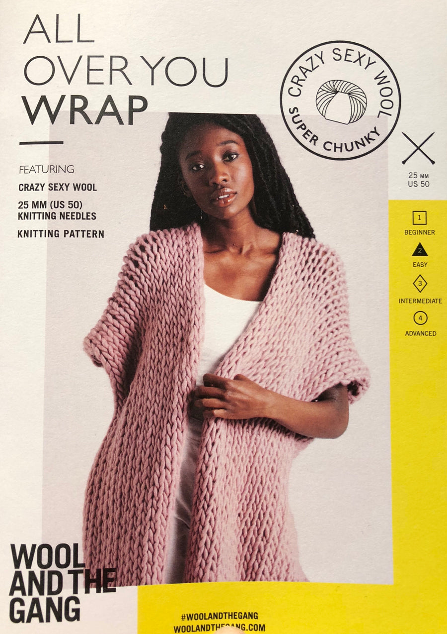 All Over You Wrap Pattern